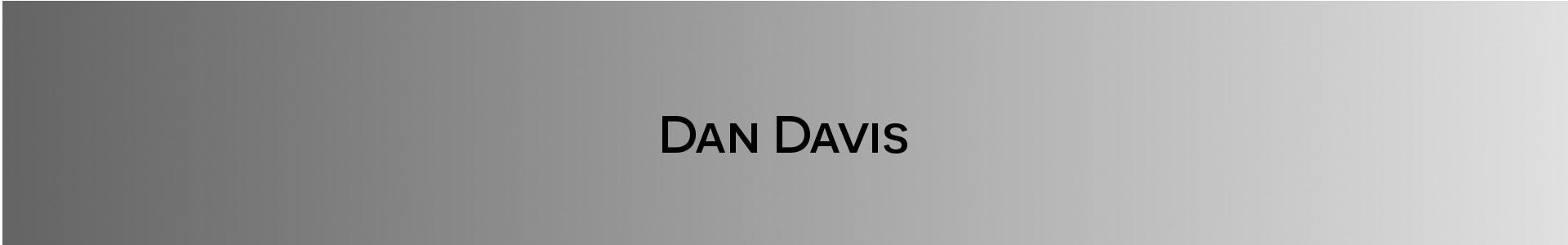 Daniel Davis banner image